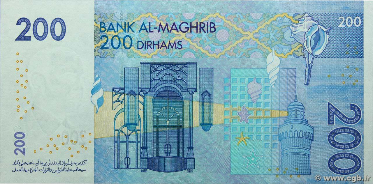 VERSO 200 Dirhams Type 2002