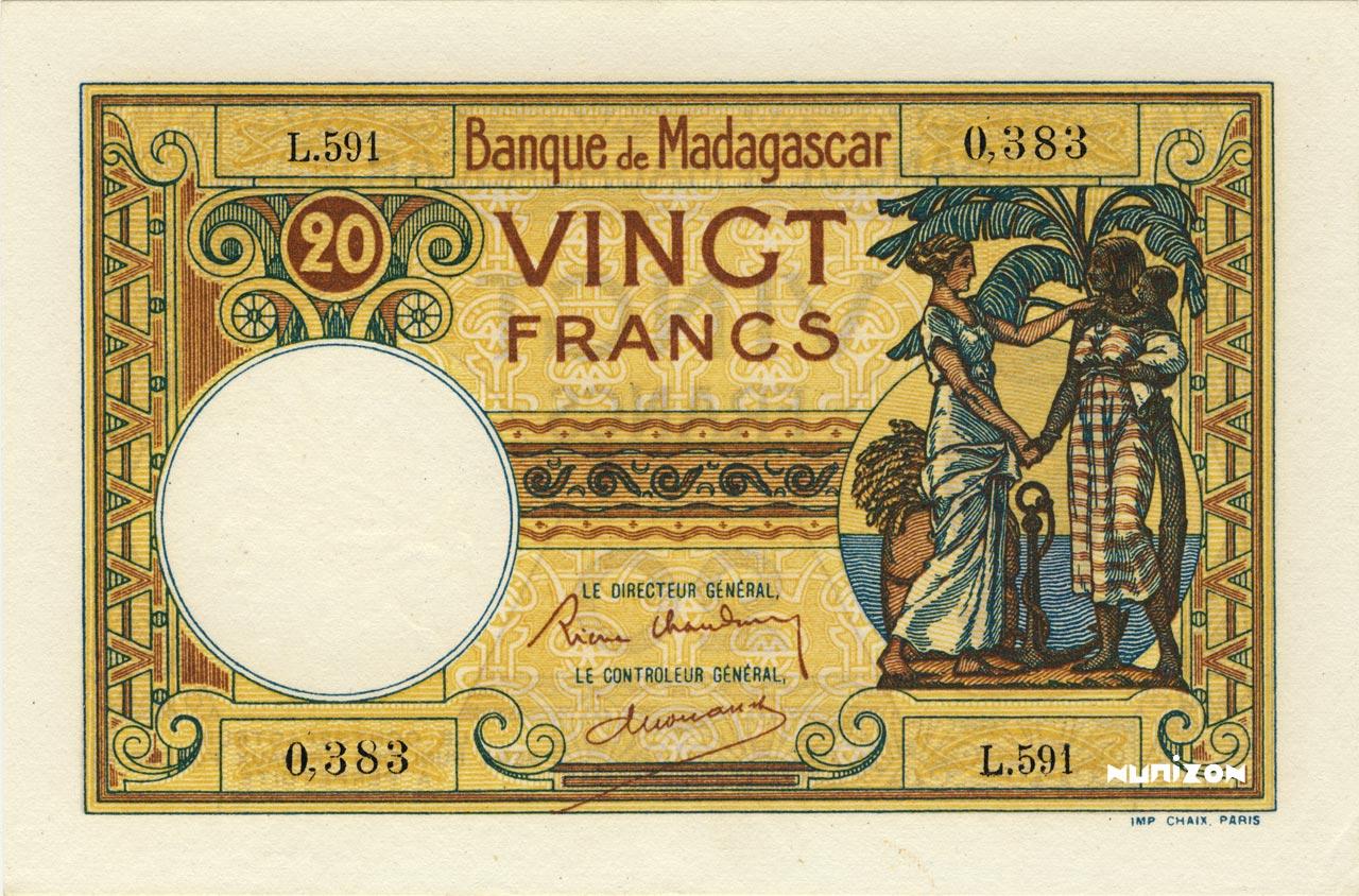 RECTO 20 Francs