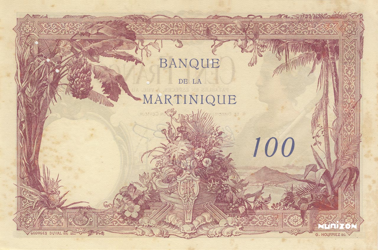 VERSO 100 francs Type 1927