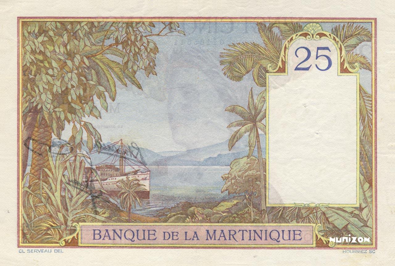VERSO 25 francs Type 1927