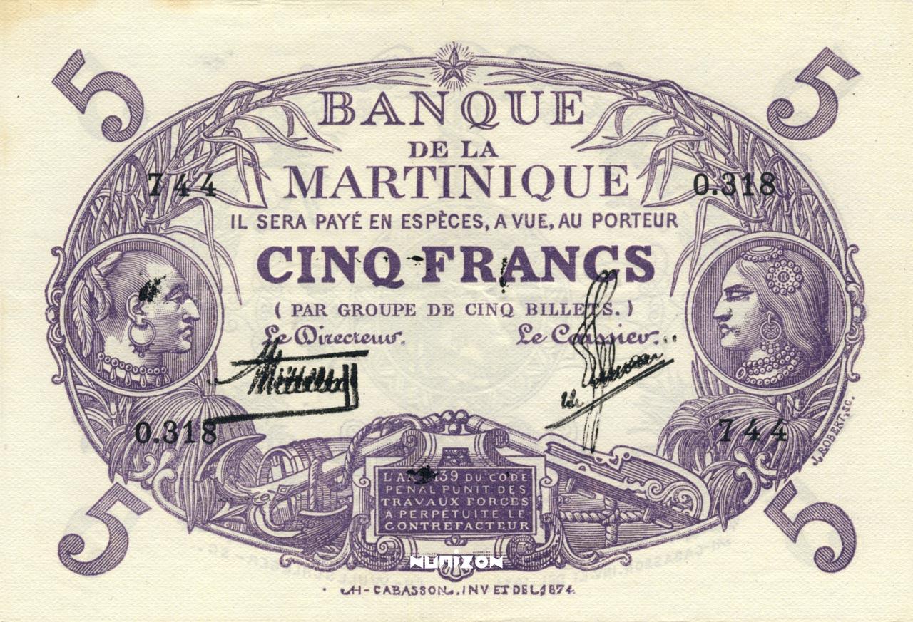 RECTO 5 francs Purple Type 1901