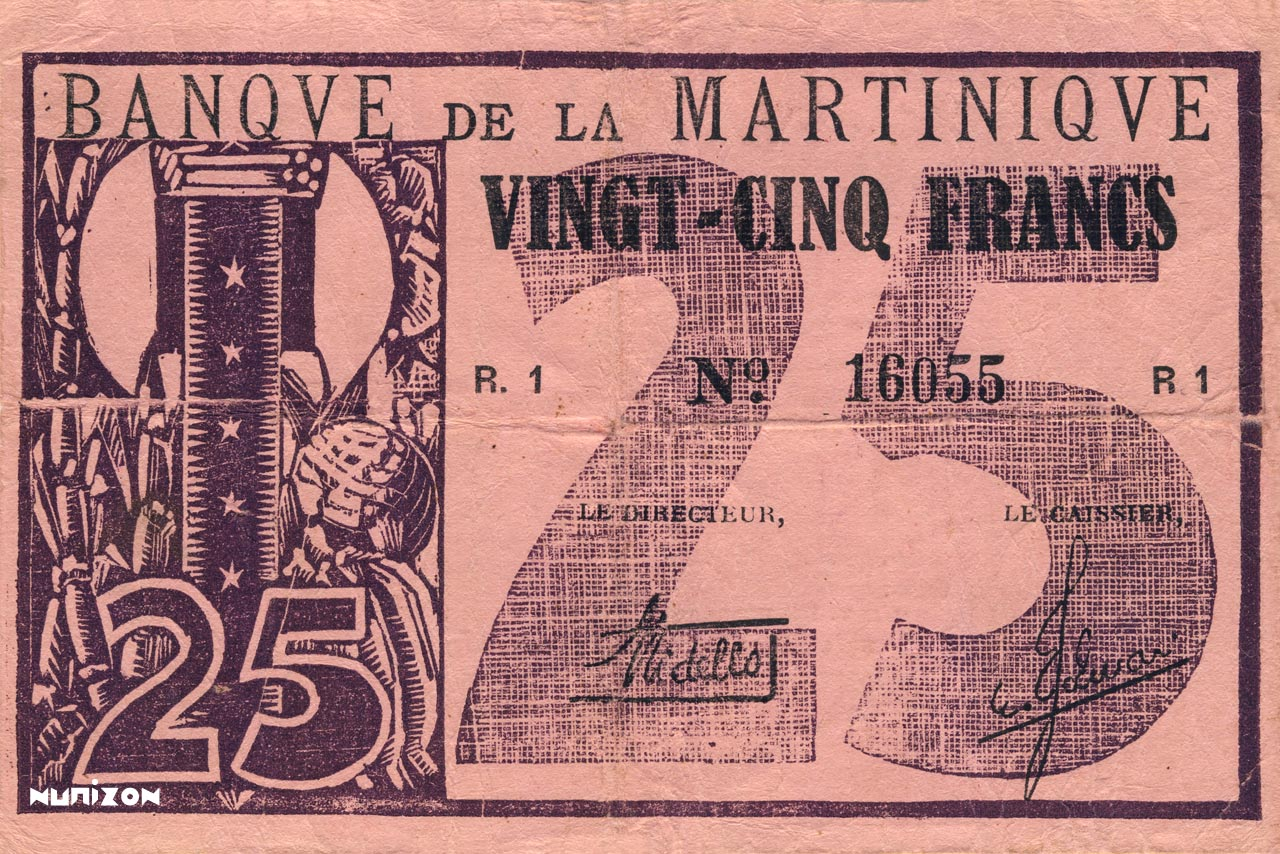 RECTO 25 francs Type 1941