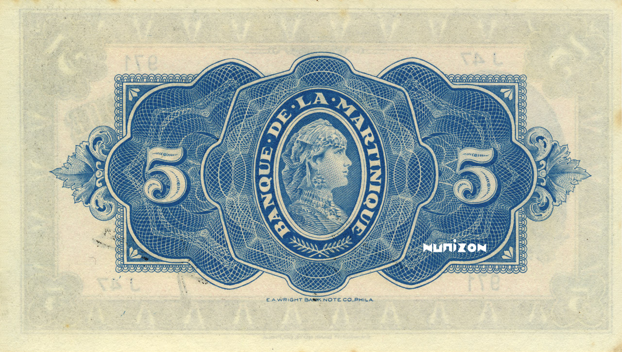 VERSO 5 francs Type 1942  (US)