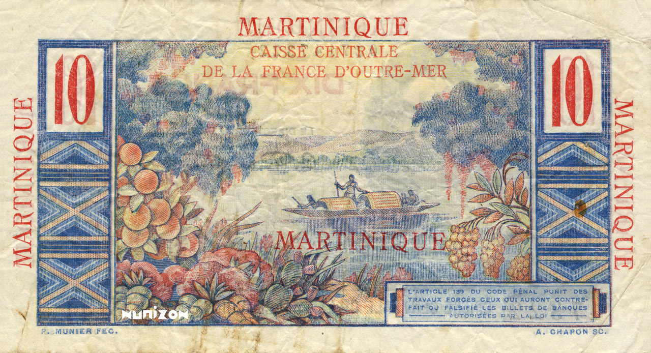 VERSO 10 francs Colbert Type 1946