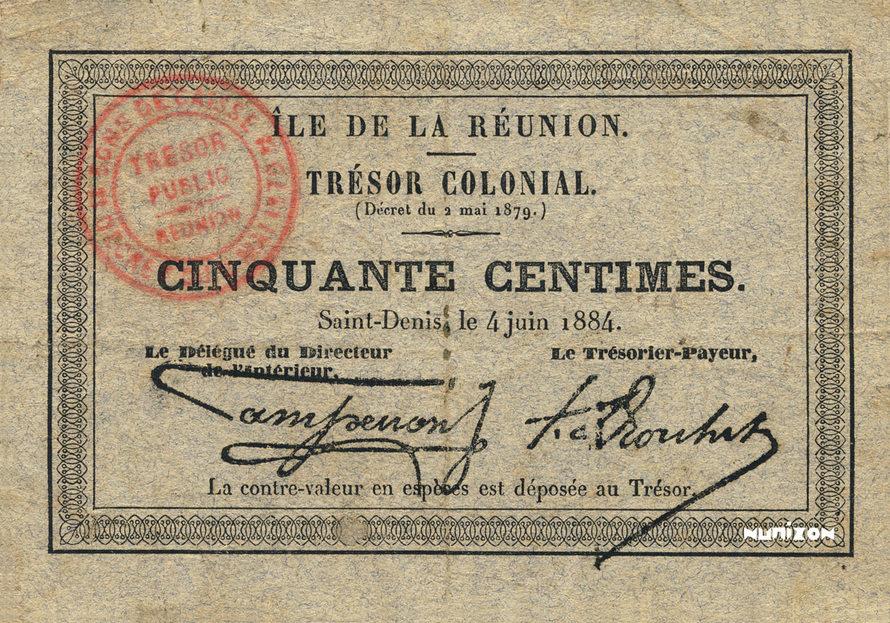 RECTO 50 centimes 1884 Type 1