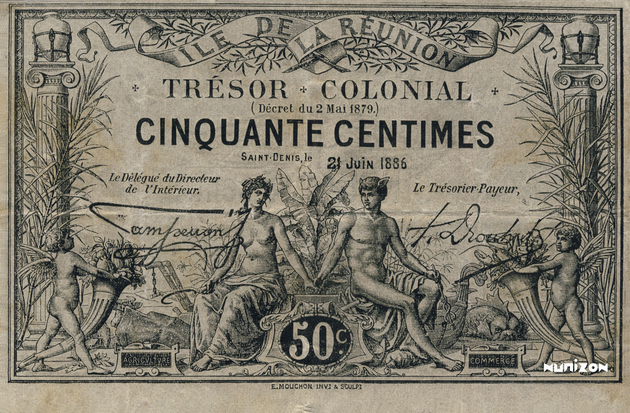 RECTO 50 centimes 1886 Type 3