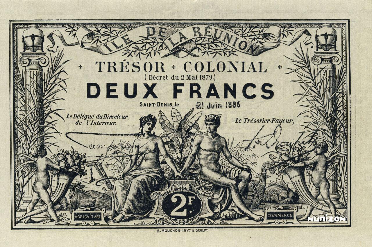 RECTO 2 francs 1886 Type 3