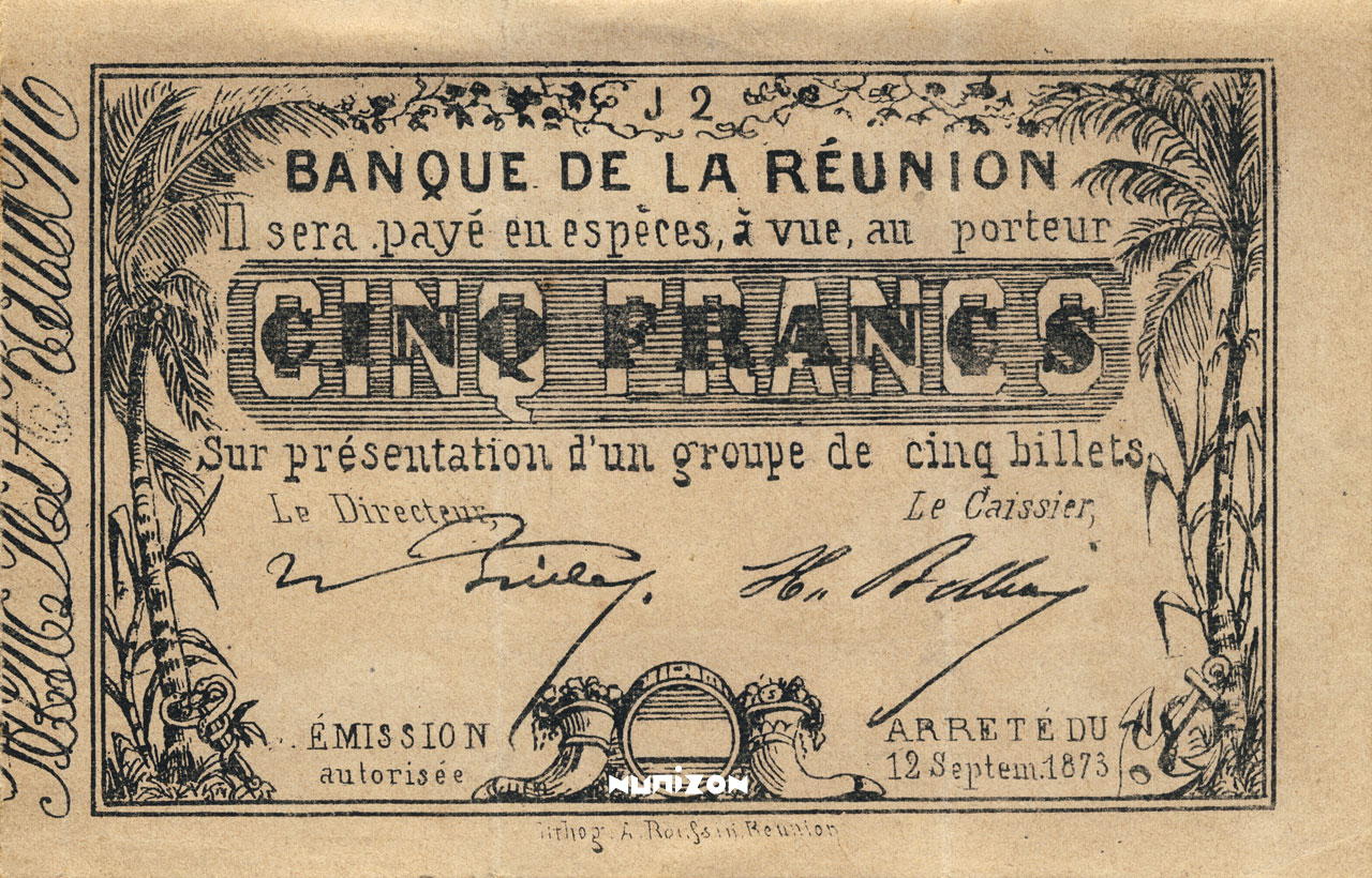 RECTO 5 francs Type 1873