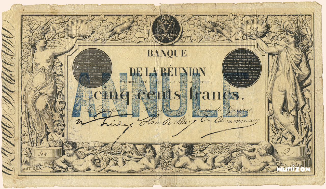 RECTO 500 francs Type 1852