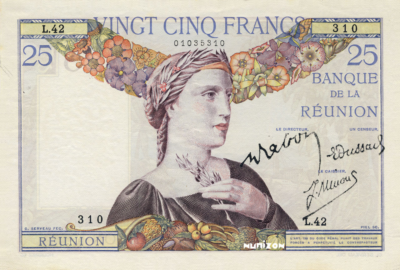 RECTO 25 francs Type 1927