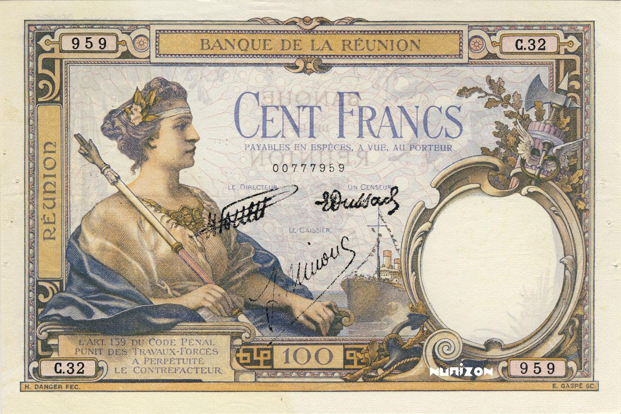 RECTO 100 francs Type 1927