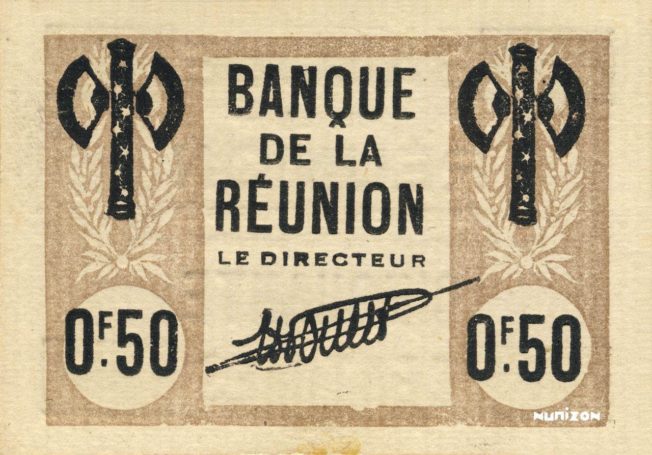 RECTO 50 centimes Francisque Type 1942