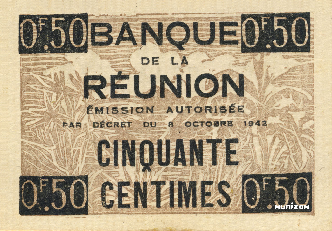 VERSO 50 centimes Francisque Type 1942