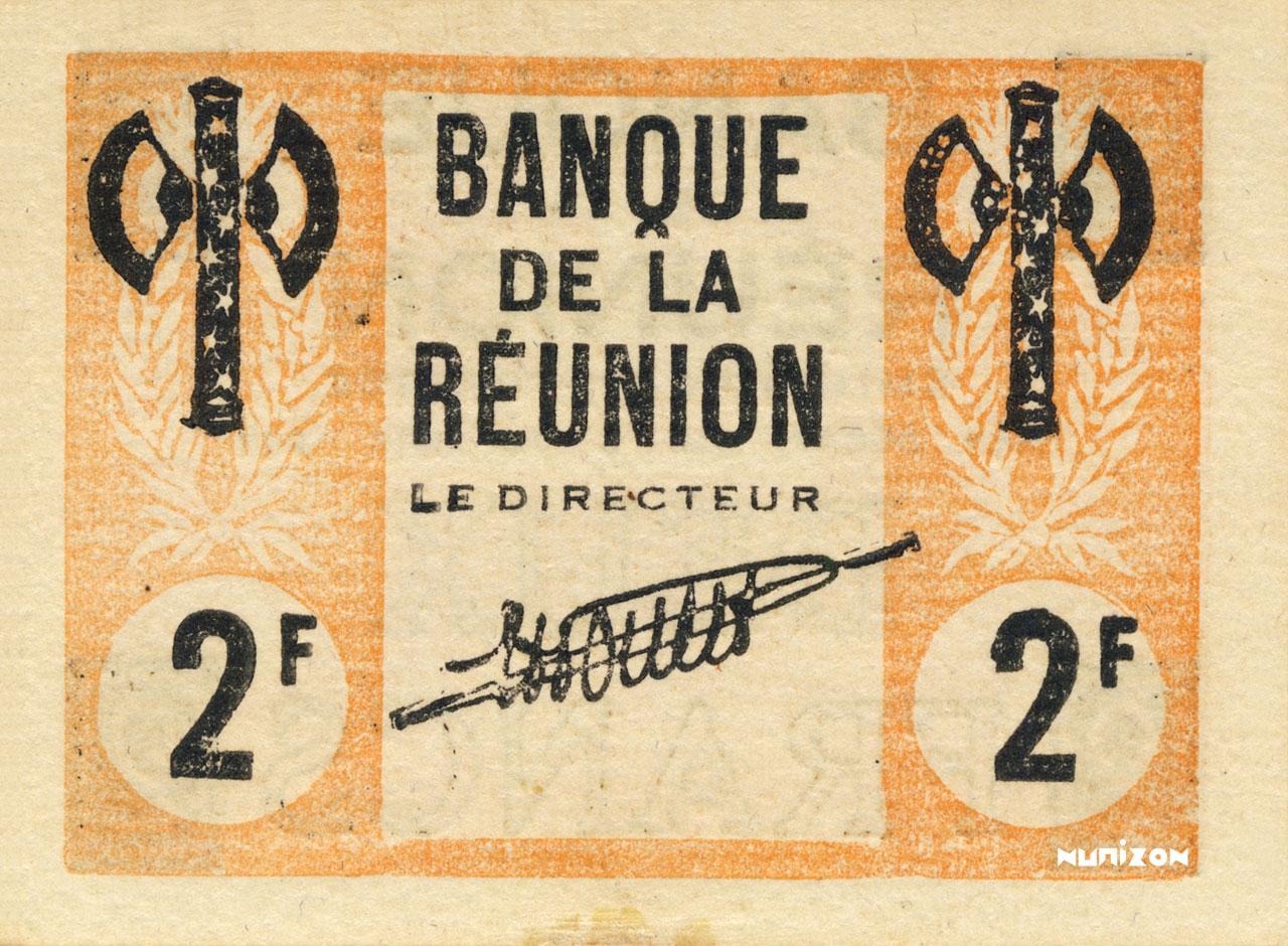 RECTO 2 francs Francisque Type 1942