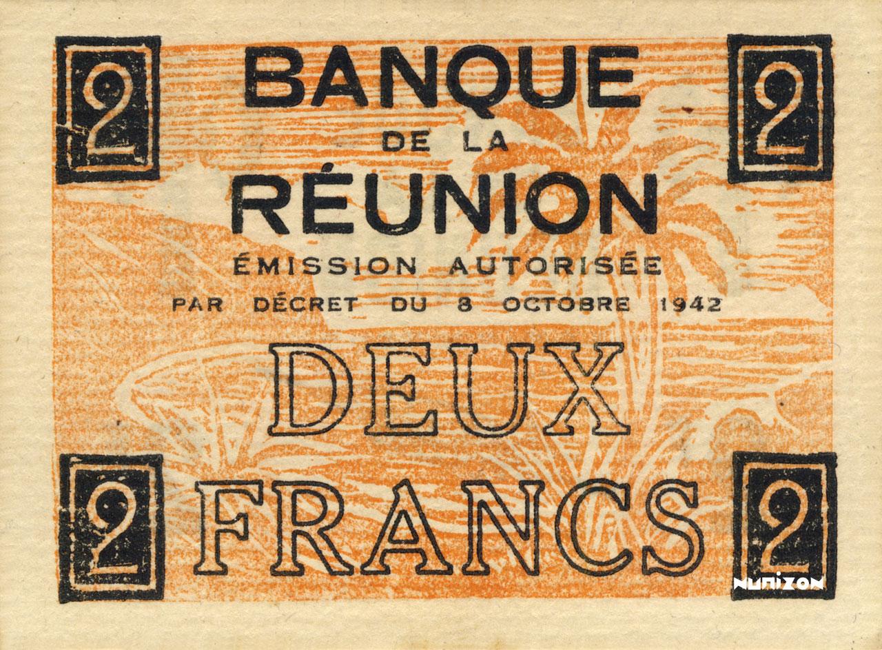 VERSO 2 francs Francisque Type 1942