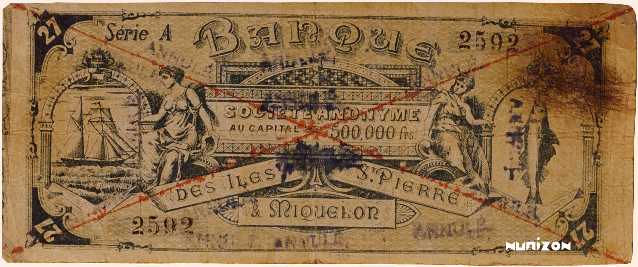 RECTO 27 francs Type 1890