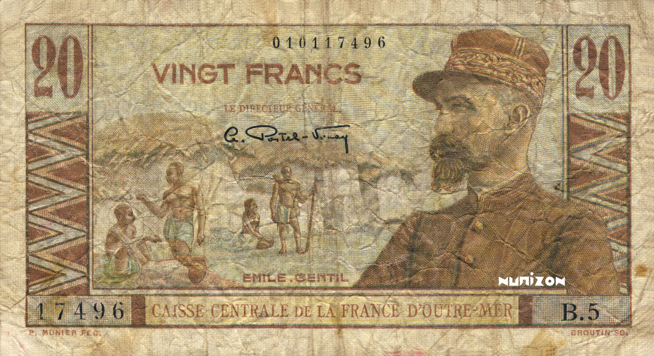 RECTO 20 francs Emile Gentil Type 1946