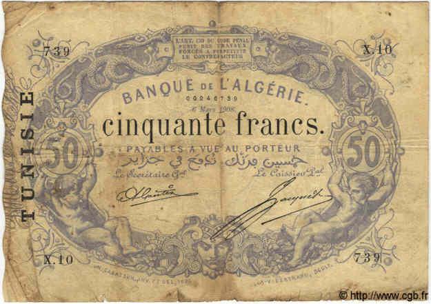 RECTO 50 francs Bleu Type 1873