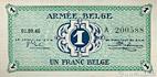 Banknote #BEL_M1_1F