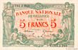 Banknote #BEL_P075_5F