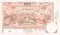 Banknote #BEL_P079_100F