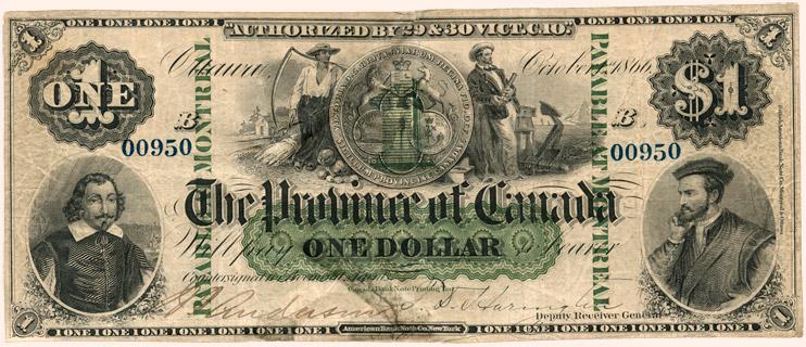 1 Dollar Type 1866 Pick##1