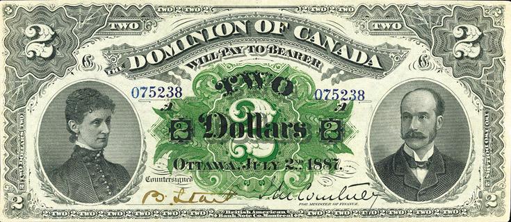 2 Dollars Type 1887 Pick##21