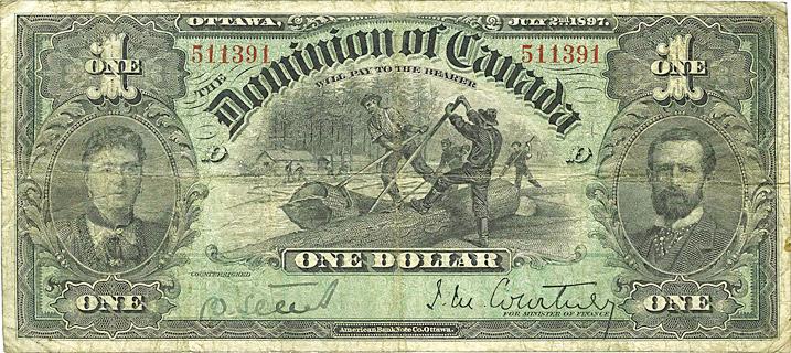 1 Dollar Type 1897 Pick##22