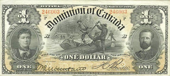 1 Dollar Type 1898 Pick##24A