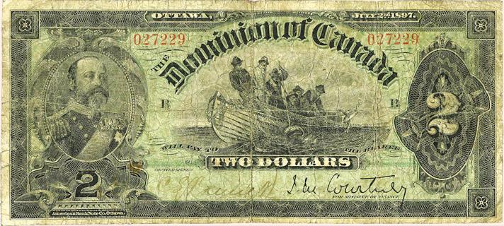 2 Dollars Type 1897 Pick##24B
