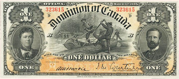 1 Dollar Type 1898 Pick##24