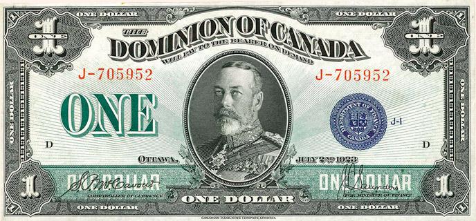 1 Dollar Type 1923 Pick##33