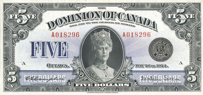 5 Dollars Type 1924 Pick##35