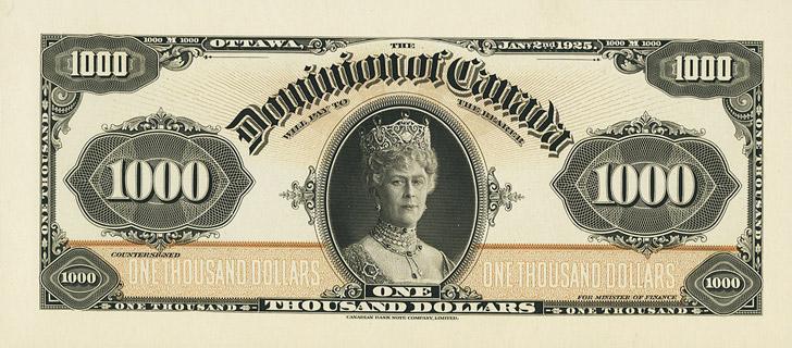 1000 Dollars Type 1925 Pick##37