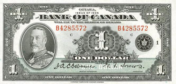 1 Dollar Type 1935 «English» Pick##38