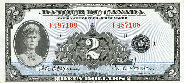 2 Dollars Type 1935 « French » Pick##41