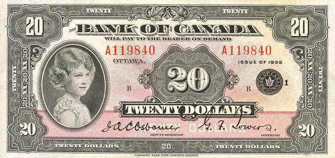 20 Dollars Type 1935 « English » Pick##46