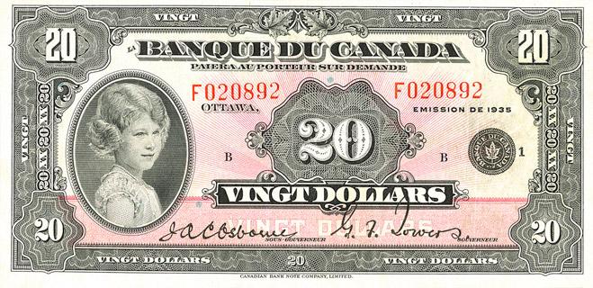 20 Dollars Type 1935 « French » Pick##47