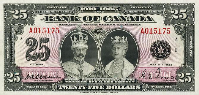 25 Dollars Type 1935 « English » Pick##48