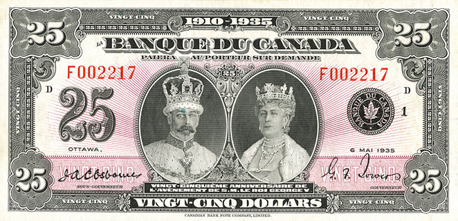 25 Dollars Type 1935 « French » Pick##49