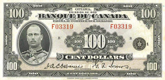 100 Dollars Type 1935 « French » Pick##53