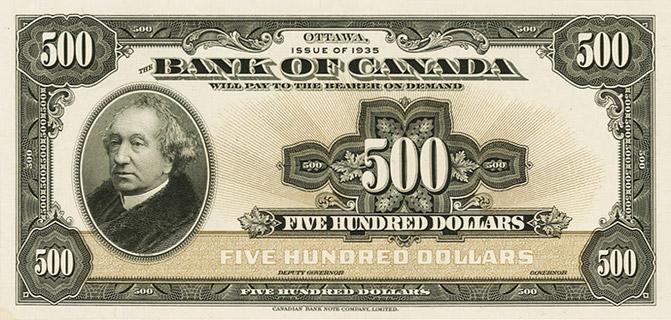 500 Dollars Type 1935 « English » Pick##54