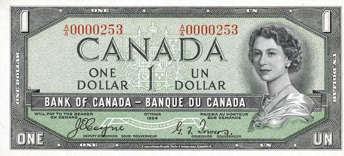 1 Dollar Type 1954 Devil's Face Pick##66