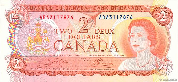 2 Dollars 1974 Pick##86