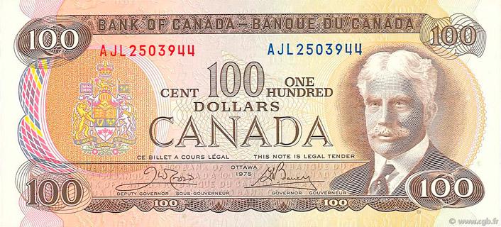 100 Dollars Type 1975 Pick##91