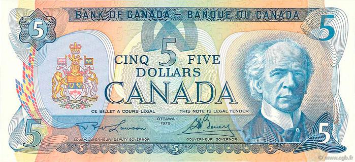 5 Dollars Type 1979 Pick##92