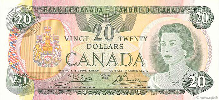 20 Dollars Type 1979 Pick##93