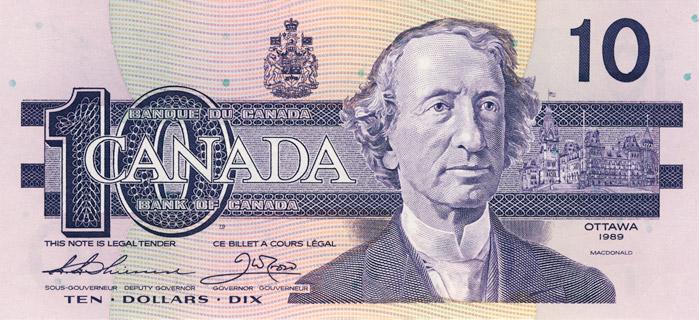 10 Dollars Type 1989 Pick##96