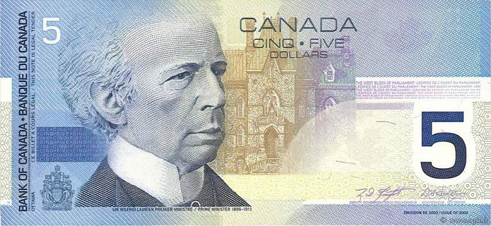 5 Dollars Type 2002 Pick##101