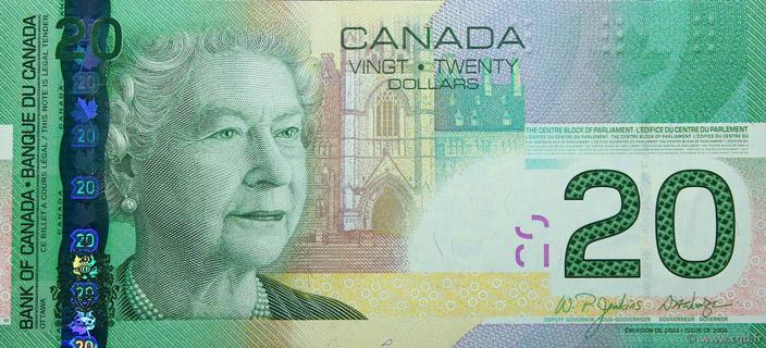 20 Dollars Type 2004 Pick##103